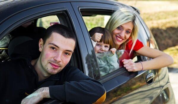 çocuklarla araba yolculuğu
