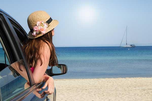 Araba ile Yunanistan Seyahati