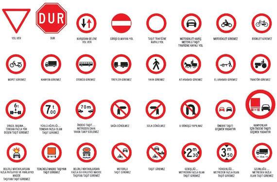 trafik kuralları