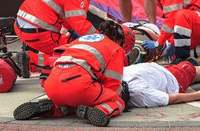 trafik kazalarında ilk yardım